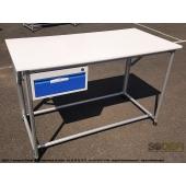 LEAN CONCEPT - Etabli standard ergonomique et modulaire, avec bloc tiroir - SODEFI