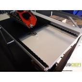 LEAN CONCEPT -  Poste de travail pour ligne d'assemblage avec convoyage et présentoir pour bacs à bec. Conception robuste, ergonomique et modulaire. SODEFI