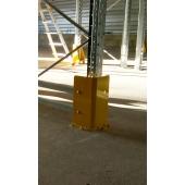 METALCHOC - sabot de protection d'angle en acier pour les montants de rack à palette. Made in France, SODEFI