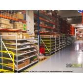 LEAN CONCEPT - Meuble de convoyage à galets sous rack pour le stockage et le picking des cartons - SODEFI