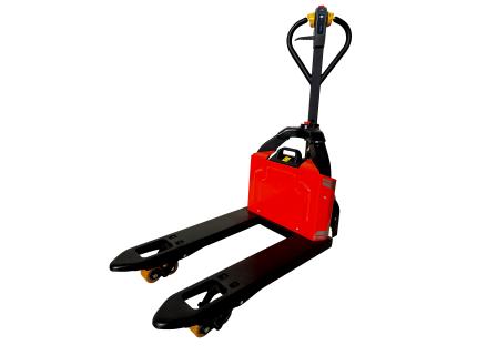 Le transpalette électrique à fourches courtes est une véritable innovation sur le marché. Il est adapté pour la manutention de charges dans les espaces restreints - SODEFI